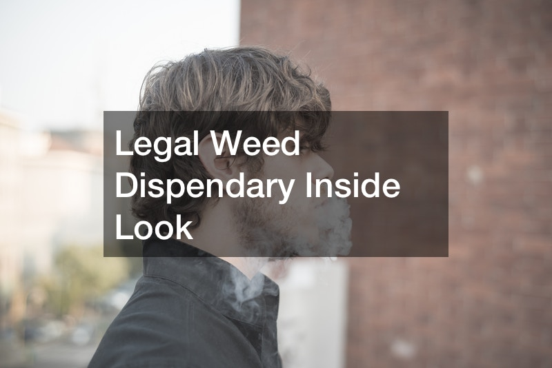 Legal Weed Dispendary Inside Look